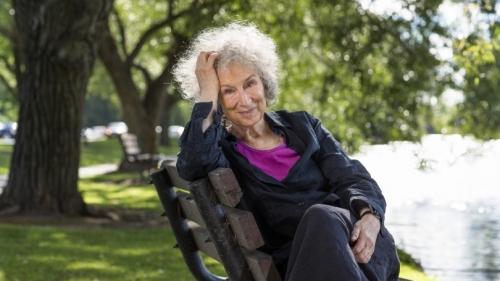 Margaret Atwood portrait