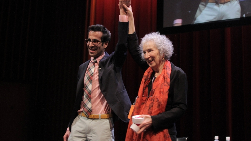 Margaret Atwood and Sonu Bedi