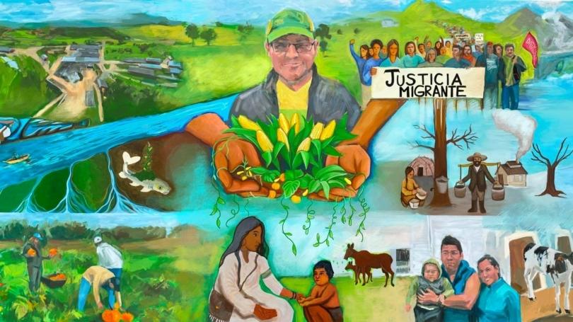 Organic Farm Mural Project