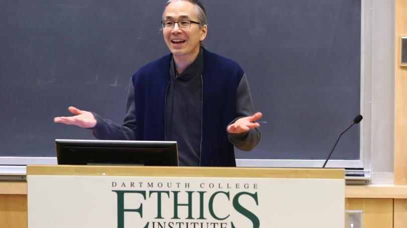Ted Chiang, Dorsett Fellow, Ethics Institute