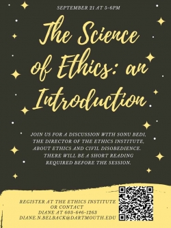 The Science of Ethics with Professor Bedi
