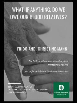 Frido and Christine Mann Poster